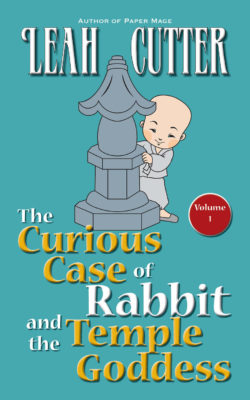Book Cover: The Curious Case of Rabbit and the Temple Goddess