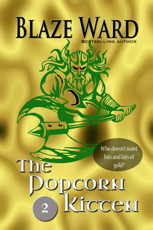 Book Cover: The Popcorn Kitten