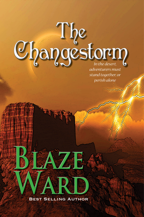 Book Cover: The Changestorm