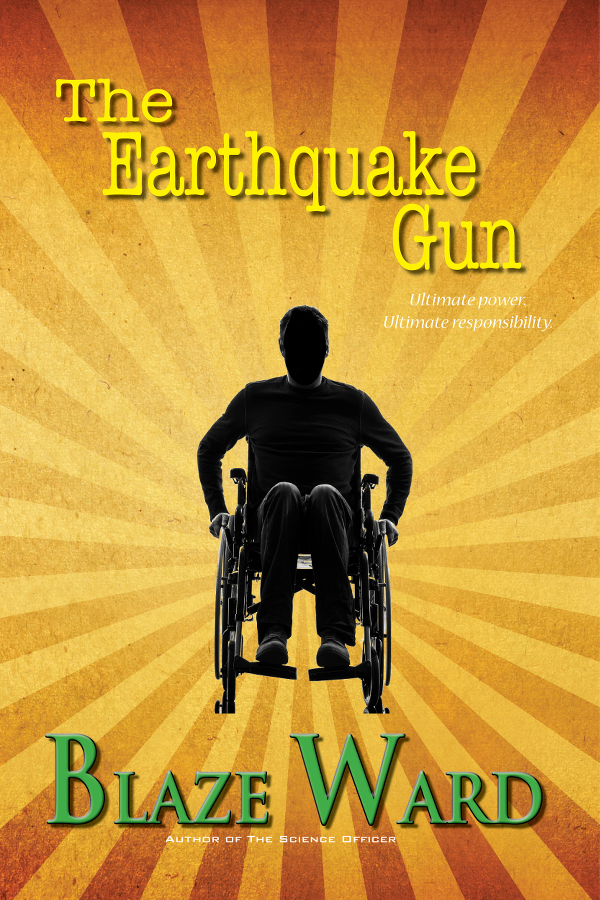 Book Cover: The Earthquake Gun