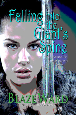 Book Cover: Falling Into the Giant's Spine
